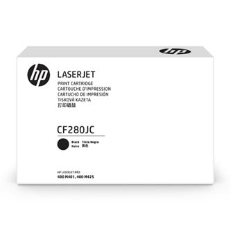 HP HP 80J (CF280JC) Black Original LaserJet Contract Toner Cartridge (8000 Yield)