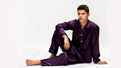 Men's Long Sleeve Pajamas