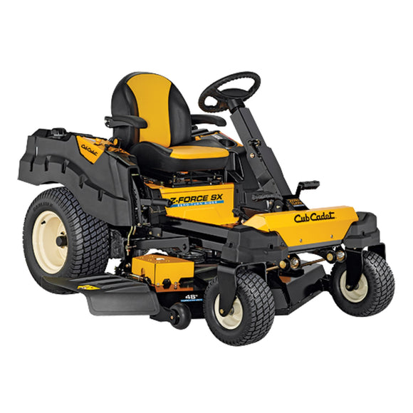 Cub Cadet Z Force SX48 Zero Turn Rideon Mower