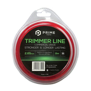 Nylon Trimmer Line Square 2.65mm/15m