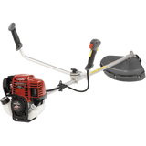 The UMK450 Bull Handle Brushcutter is going to get the toughest job done. The 4 stroke, GX50 engine is more than powerful enough to deal to large brush, gorse trunks, bamboo with ease.