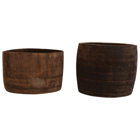 Found Wood Container (Each one will vary)