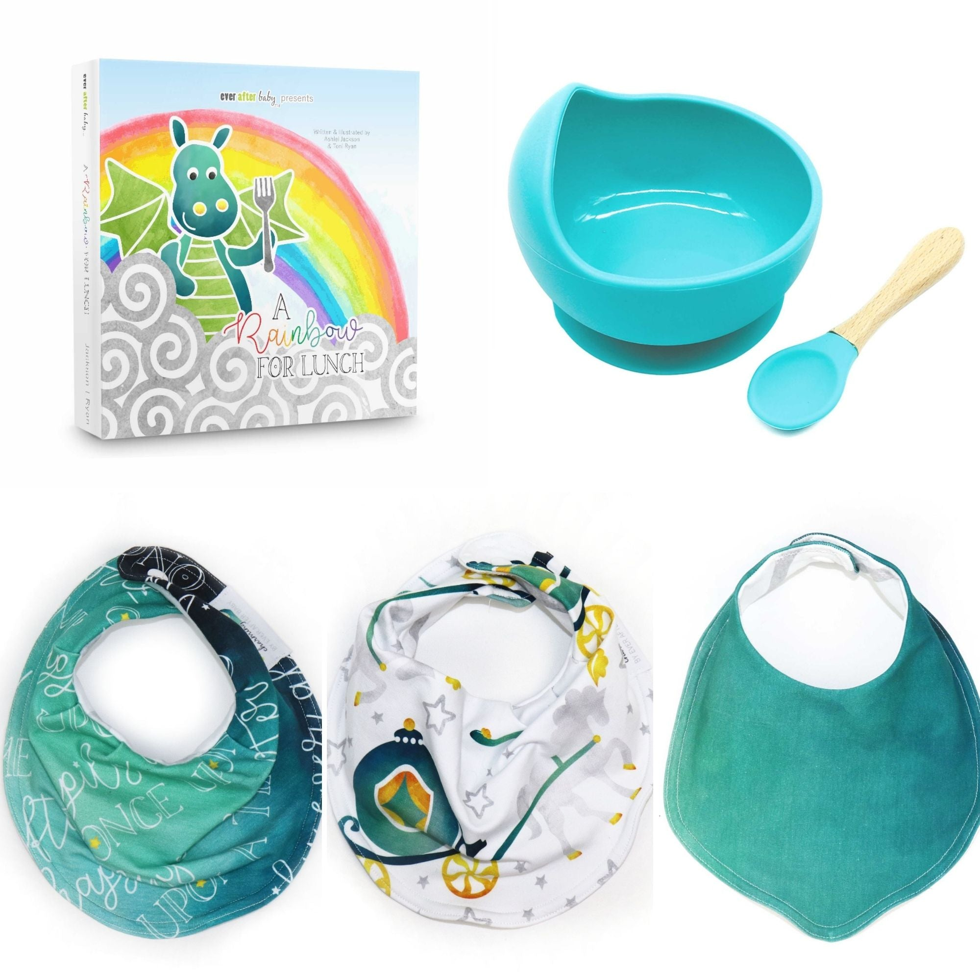 Less Messy Mealtime Gift Set - Boy - 9 colors