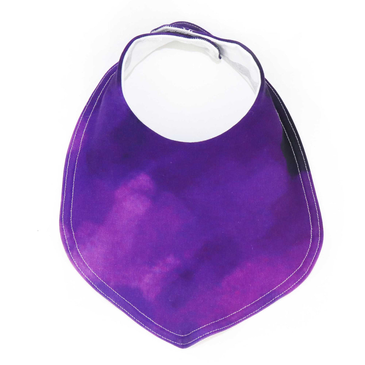 Foodie Bib in Enchanted Purple