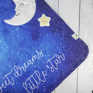 Sweet Dreams Little Star Stroller Blanket