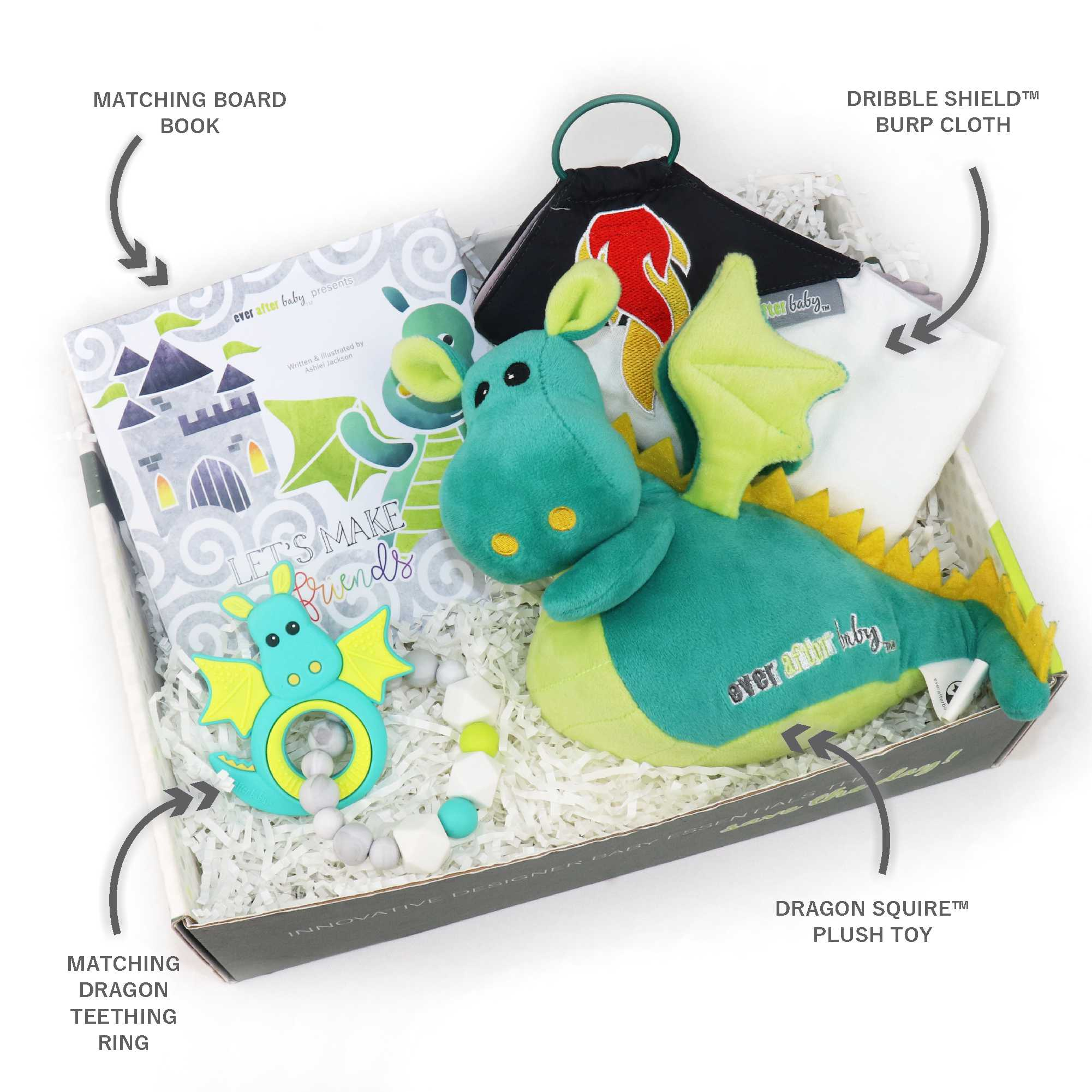 Dragon Friends Baby Box with Blaze