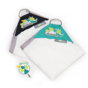 Dribble Shield™ Burp Cloths 2-pack in Charming