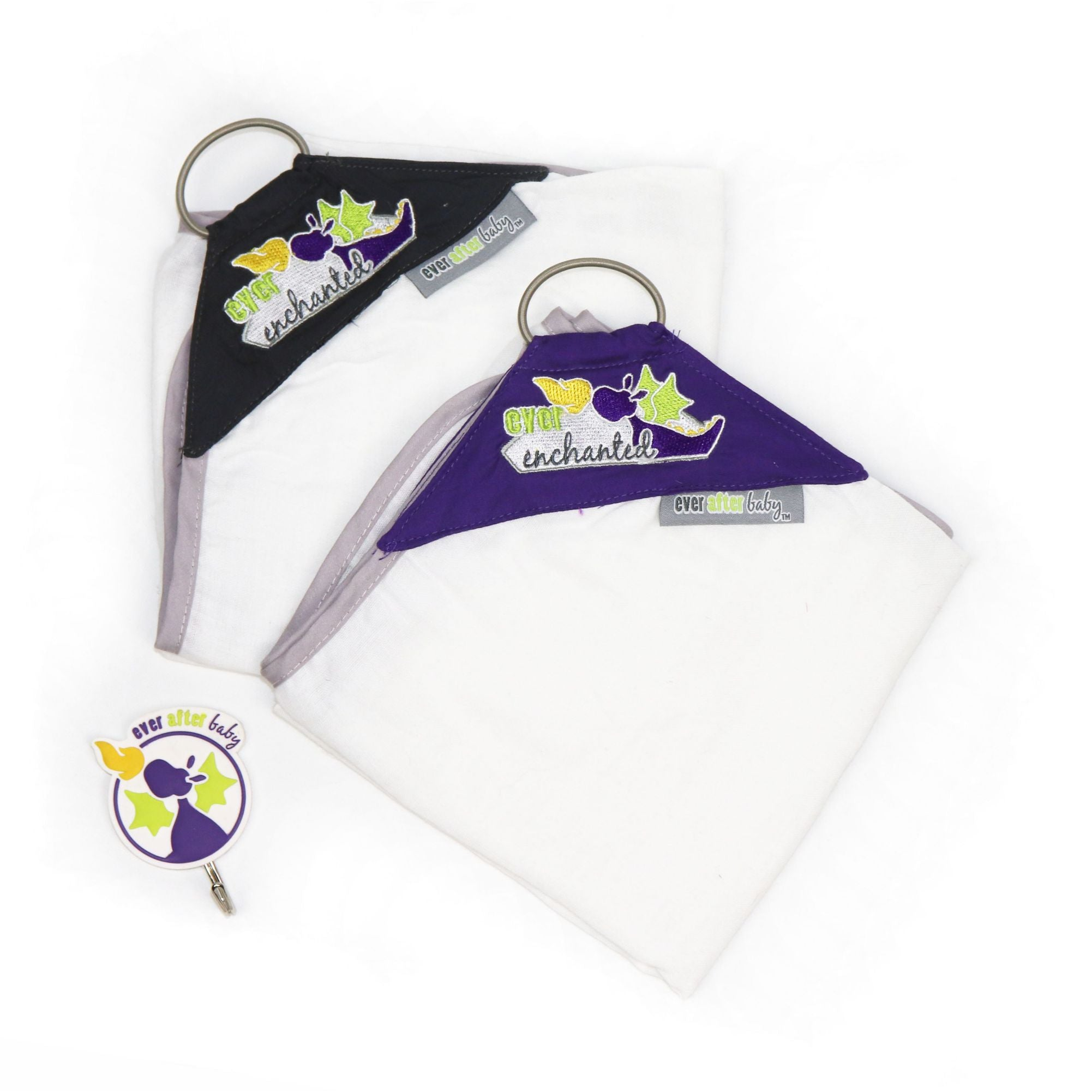 Dribble Shield™ Burp Cloths 2-pack in Enchanted