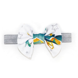 Princess Bow in Charming Teal Carriage