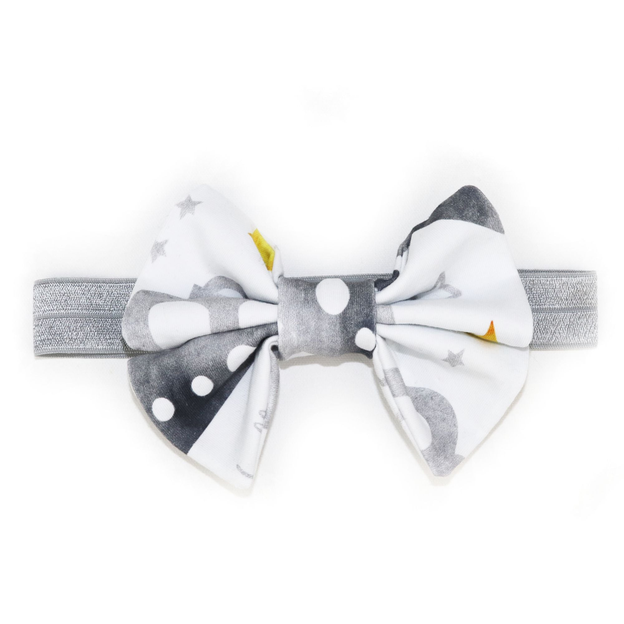 Princess Bow in Brilliant Gray Crowns