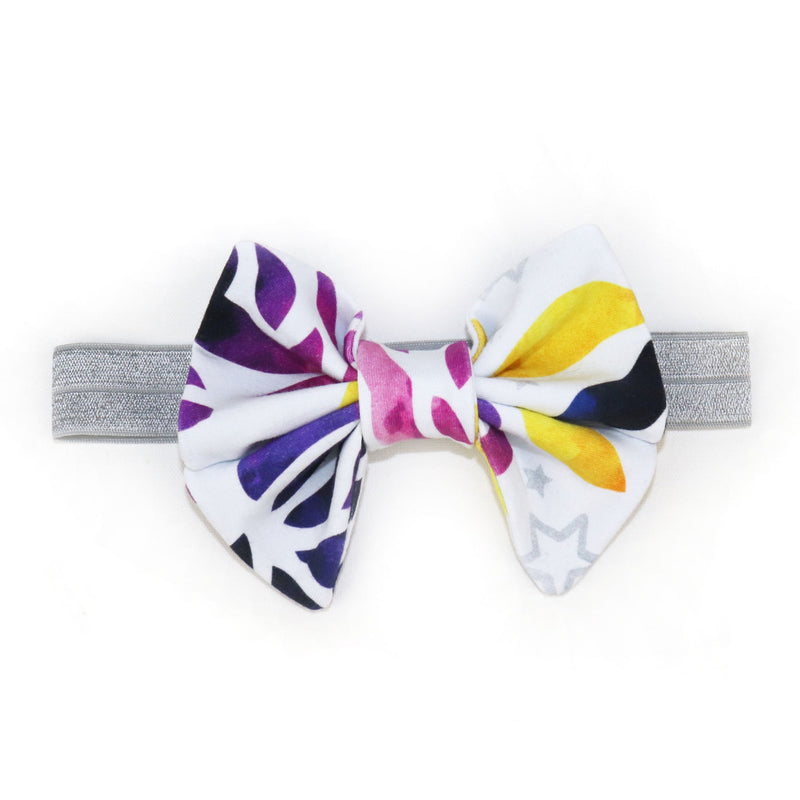 Princess Bow in Enchanted Purple Rose
