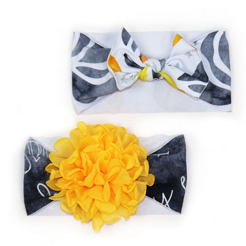 Baby Headband Set in Brilliant (3890143756322)