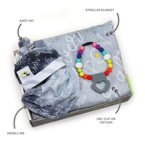 Ready for Adventure Baby Box in Brilliant Gray