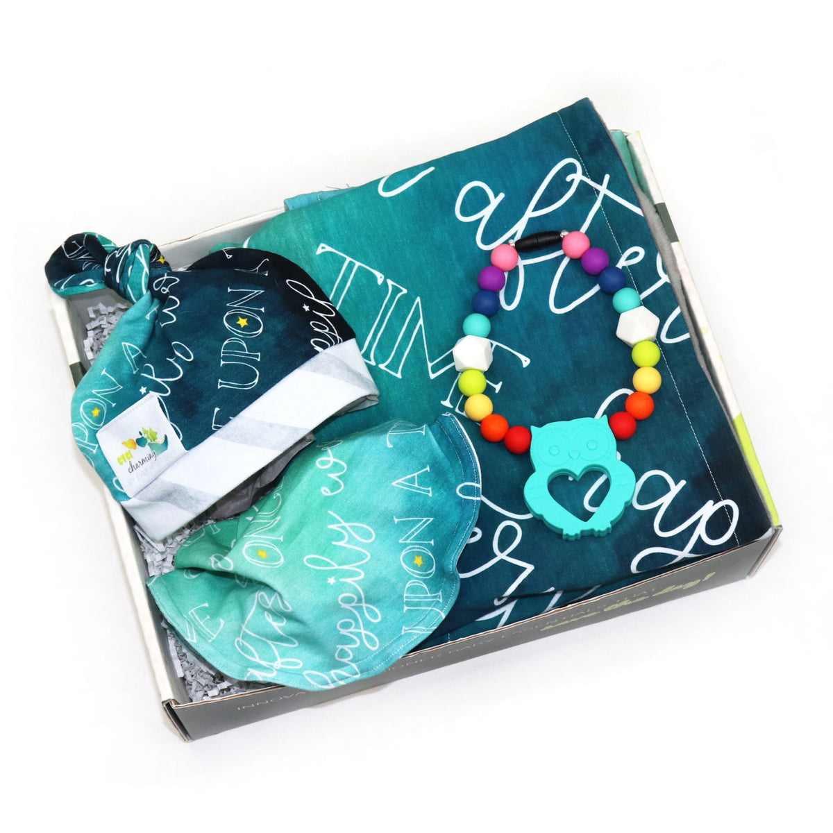 Ready for Adventure Baby Box in Charming Teal (3885246414882)