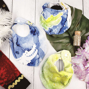 Bib Bundle in Peter Pan Inspired Ever Bright Collection - Green