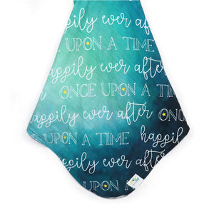 Stroller Blanket in Charming Teal