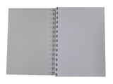 Various Colour Pearlised A5 Plain Notepad 80gsm 70 Sheets