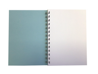 Various Colour Pastel A5 Plain Notepads 70 Sheets 80gsm