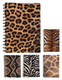 Various Animal Print A5 Dotted Notepads 70 Sheets 80gsm