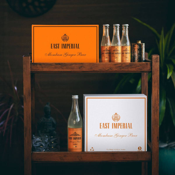 East Imperial Mombasa Ginger Beer (Bar Cart)