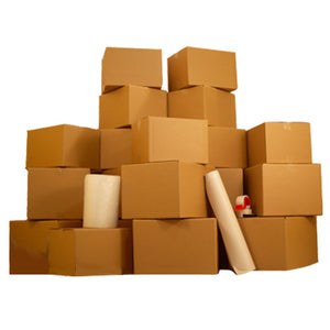 9 Room Basic Moving Kit 125 moving boxes + $128 in supplies