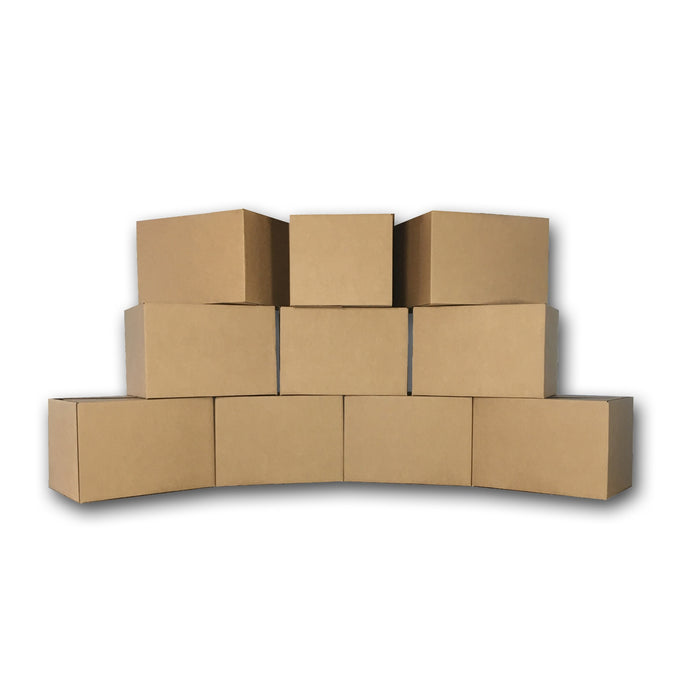 Medium Moving Boxes - 10 Boxes