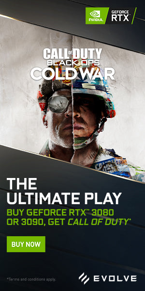 BUY GEFORCE RTX™ 3080 OR 3090, GET CALL OF DUTY ®