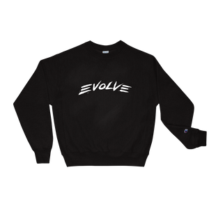 Evolve Black Crewneck
