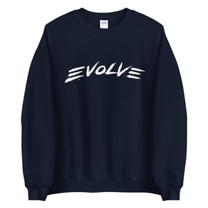 Evolve Navy Crewneck