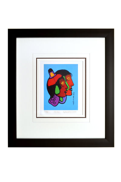 "Norval Morrisseau ""As One"" Framed Limited Edition"