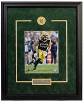 Green Bay Packers Clay Matthews  Framed 8x10 Licensed Photo