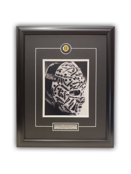 Gerry Cheevers - Boston Bruins 23x19 Framed Licensed Print