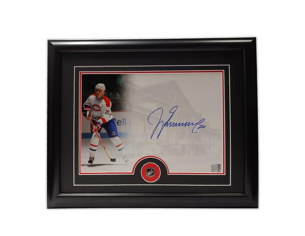 Jyrki Lumme Montreal Candiens 19.5 x 16.5 Framed Autographed Photo
