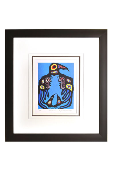 "Norval Morrisseau ""Man Within"" Framed Limited Edition"