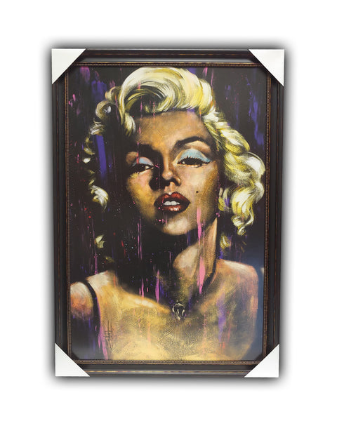 "Marilyn Monroe ""CANDLE in the WIND"" 27x39 Framed Licensed Print"