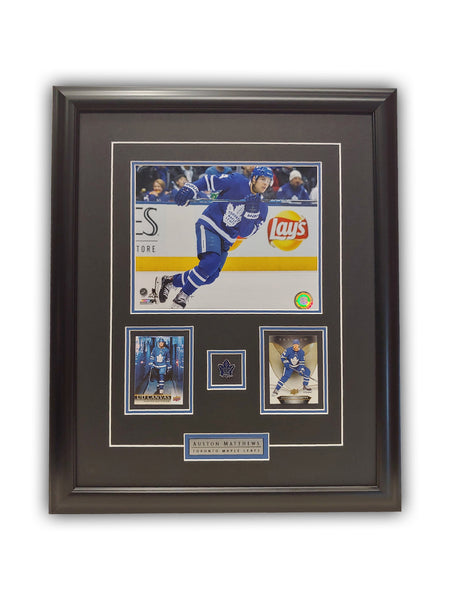 Auston Matthews 23x19 Framed Limited Edition Super Fan Collector Series
