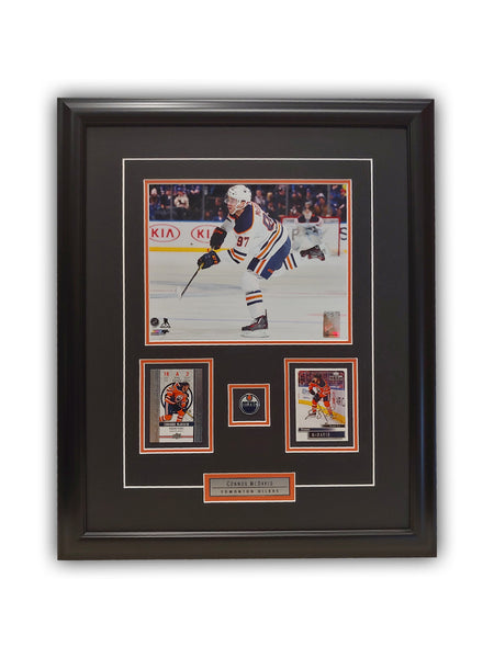 Connor McDavid 23x19 Framed Limited Edition Super Fan Collector Series