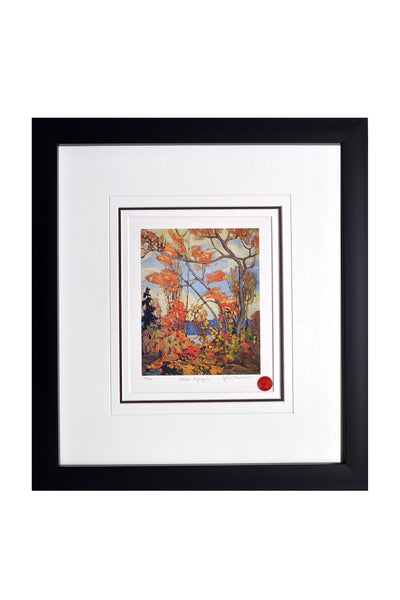"Group of Seven Tom Thomson ""October Algonquin"" Framed Limited Edition"
