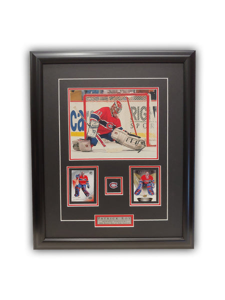 Patrick Roy 23x19 Framed Limited Edition Super Fan Collector Series