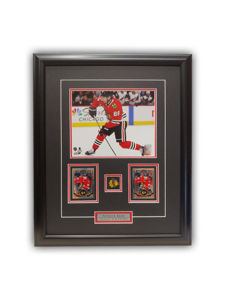 Patrick Kane 23x19 Framed Limited Edition Super Fan Collector Series