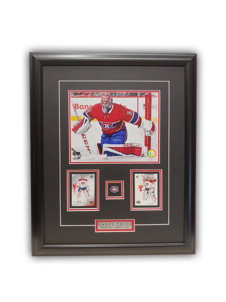 Carey Price 23x19 Framed Limited Edition Super Fan Collector Series