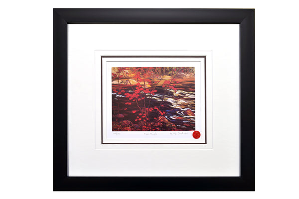 "Group of Seven A.Y Jackson ""Red Maple"" Framed Limited Edition"