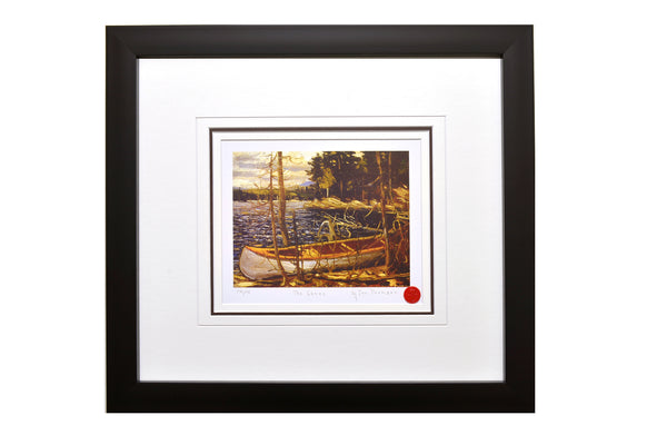 "Group of Seven Tom Thomson ""The Canoe"" Framed Limited Edition"