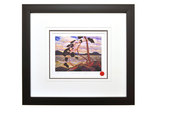 "Group of Seven Tom Thomson ""West Wind"" Framed Limited Edition"