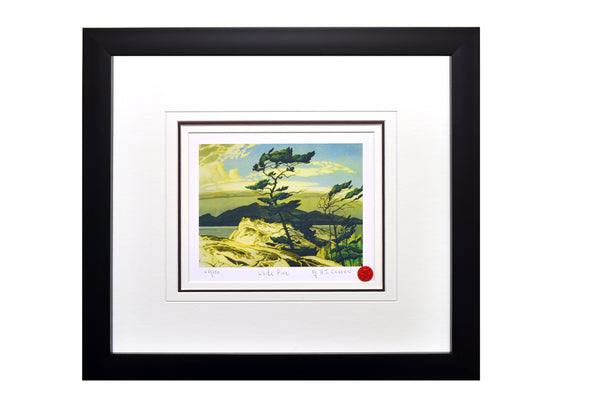 "Group of Seven A.J Casson ""White Pine"" Framed Limited Edition"