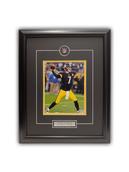 Ben Roethlisberger Pittsburgh Steelers Framed 19' x 23' Licensed Photo