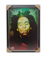 Bob Marley Texturized Framed Licensed Print 27x39