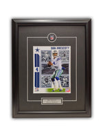 Dak Prescott - Dallas Cowboys 19' x 23' - Framed Print