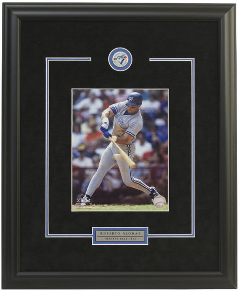 Toronto Blue Jays Roberto Alomar Framed 8x10 Licensed Photo