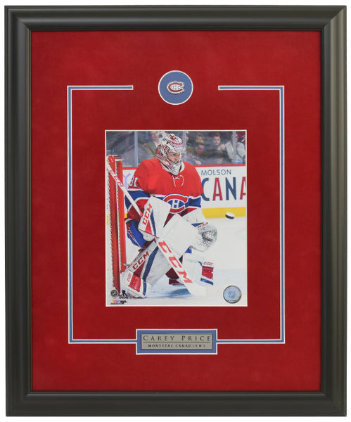 Montreal Canadiens Carey Price Framed 8x10 Licensed Photo